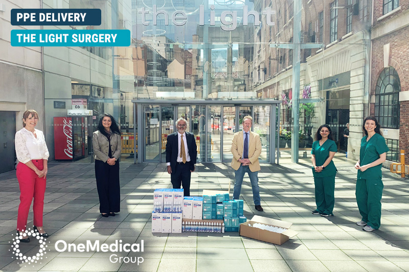 The Light Surgery PPE Delivery