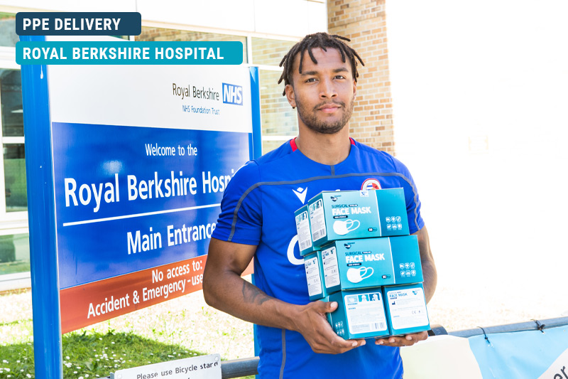 Royal Berkshire Hospital PPE Delivery