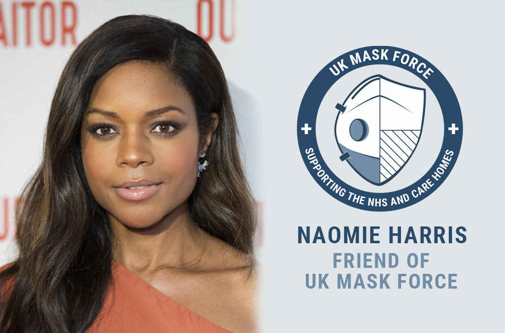 Naomie Harris Friend of UK Mask Force