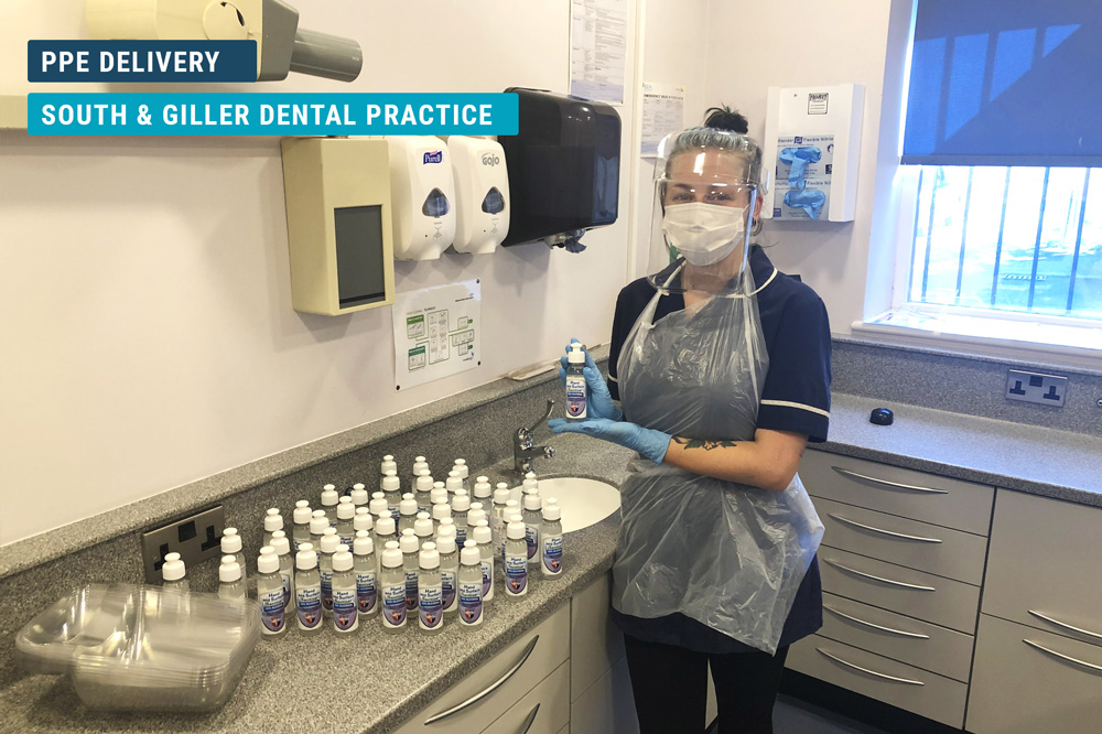 South & Giller Dental Practice PPE Delivery