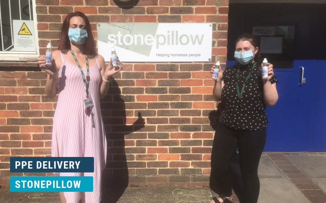 Stonepillow Charity PPE Delivery